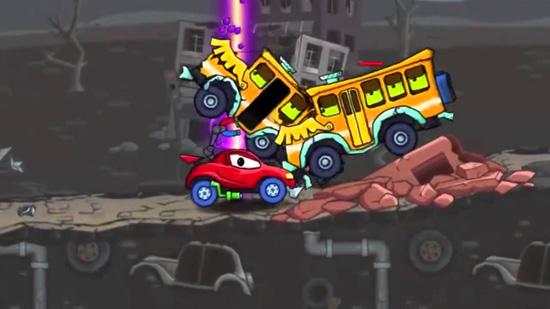Игры Машина ест машину