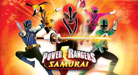 Игры Могучие рейнджеры самураи