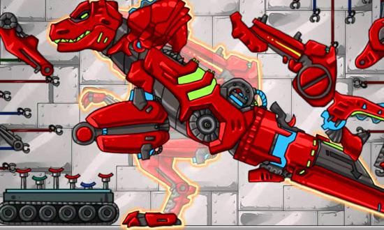 Игры роботы динозавры