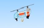 Спасательный вертолет