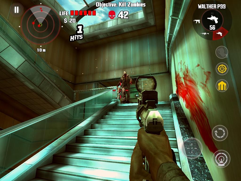 Игра сбить зомби 4